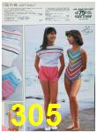 1985 Sears Spring Summer Catalog, Page 305