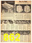 1942 Sears Spring Summer Catalog, Page 862