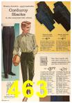 1963 Sears Fall Winter Catalog, Page 463