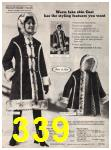 1973 Sears Fall Winter Catalog, Page 339