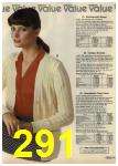 1980 Sears Fall Winter Catalog, Page 291