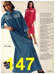 1973 Sears Fall Winter Catalog, Page 147