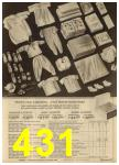 1965 Sears Spring Summer Catalog, Page 431