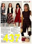 1982 Sears Fall Winter Catalog, Page 437