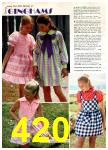 1972 Montgomery Ward Spring Summer Catalog, Page 420