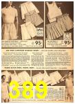 1949 Sears Spring Summer Catalog, Page 389