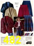 1983 Sears Fall Winter Catalog, Page 482