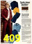 1975 Sears Fall Winter Catalog, Page 409