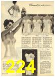 1960 Sears Spring Summer Catalog, Page 224