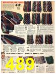 1940 Sears Fall Winter Catalog, Page 489
