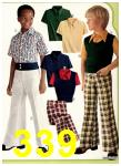1974 Sears Spring Summer Catalog, Page 339