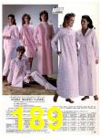 1983 Sears Fall Winter Catalog, Page 189
