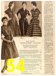 1958 Sears Fall Winter Catalog, Page 54