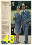1962 Sears Spring Summer Catalog, Page 43