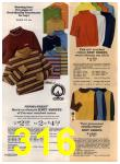 1972 Sears Fall Winter Catalog, Page 316