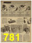 1962 Sears Spring Summer Catalog, Page 781