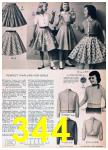 1957 Sears Spring Summer Catalog, Page 344