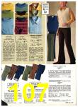 1971 Sears Fall Winter Catalog, Page 107