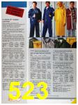 1986 Sears Fall Winter Catalog, Page 523