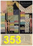 1965 Sears Spring Summer Catalog, Page 353