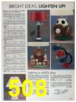 1989 Sears Home Annual Catalog, Page 508
