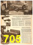 1958 Sears Fall Winter Catalog, Page 705