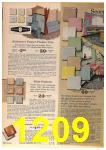 1963 Sears Fall Winter Catalog, Page 1209