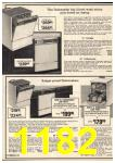 1976 Sears Fall Winter Catalog, Page 1182