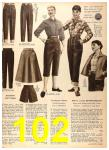 1956 Sears Fall Winter Catalog, Page 102