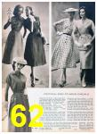 1957 Sears Spring Summer Catalog, Page 62