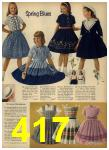 1962 Sears Spring Summer Catalog, Page 417