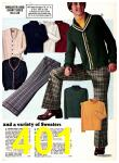 1974 Sears Fall Winter Catalog, Page 401