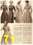 1956 Sears Fall Winter Catalog, Page 71