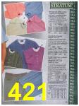 1988 Sears Spring Summer Catalog, Page 421
