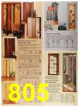 1987 Sears Spring Summer Catalog, Page 805