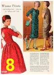 1958 Sears Fall Winter Catalog, Page 8