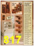 1987 Sears Spring Summer Catalog, Page 817