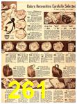 1940 Sears Fall Winter Catalog, Page 261
