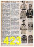 1957 Sears Spring Summer Catalog, Page 423