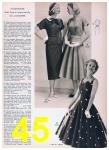 1957 Sears Spring Summer Catalog, Page 45