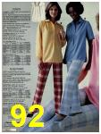 1981 Sears Spring Summer Catalog, Page 92