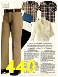 1981 Sears Spring Summer Catalog, Page 440
