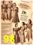 1940 Sears Fall Winter Catalog, Page 98