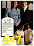 1975 Sears Fall Winter Catalog, Page 547