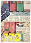 1940 Sears Fall Winter Catalog, Page 772