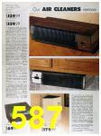1989 Sears Home Annual Catalog, Page 587