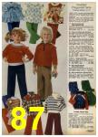 1980 Sears Fall Winter Catalog, Page 87