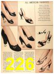 1956 Sears Fall Winter Catalog, Page 226