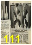 1968 Sears Fall Winter Catalog, Page 111