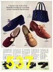 1971 Sears Fall Winter Catalog, Page 537